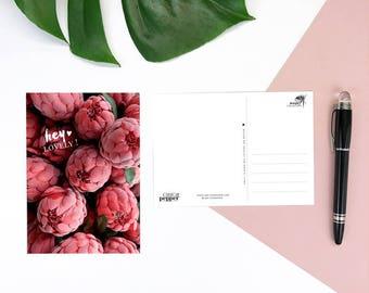 Hey Lovely postcard