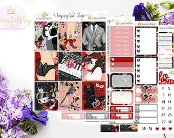 Fifty Shades Planner Sticker Kit