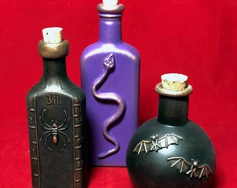Apothecary Bottles Group L