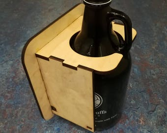 Beer Growler Anti-Tipping Device (Growler Holder)