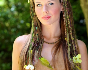 Earthy Faery Headdress
