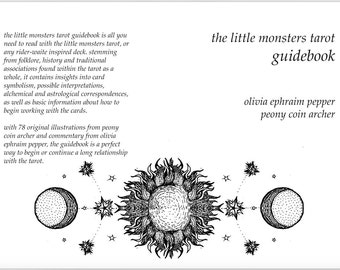 Little Monsters Tarot Guidebook (digital download)