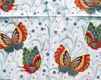 decoupage paper napkins Decoupage paper Napkin for decoupage butterflies