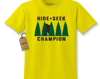 Hide And Seek Champion Kids T-shirt