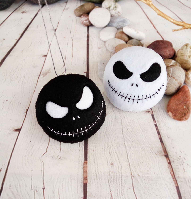 Halloween Decoration Jack Skellington Spooky Felt Toy
