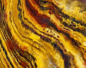 Yellow Vein Stone Texture Digital Print Background Digital Paper