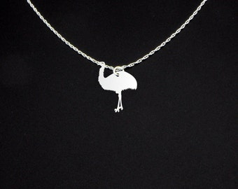 Emu Necklace - Emu Jewelry - Emu Gift