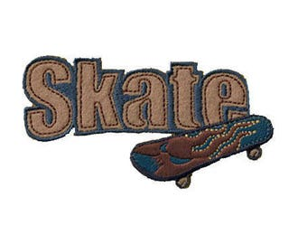 patch fusible Skate Board