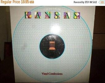 Vintage 1982 LP Vinyl Record Kansas Vinyl Confessions Excellent Condition Kirshner Records 6951