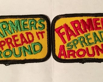 Farmers Spread It Around Risque Vintage Rare Retro L@@K