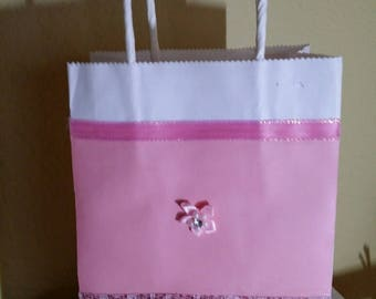 Pink and Glittery Gift Bag
