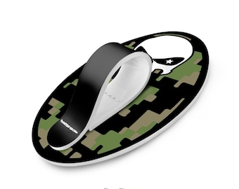 Camo Punisher PHONE FLIPPER | Holder for Hand iPhone Grip Finger Strap | Works with all Tablets and Smartphones | Comfortable Secure Stylish