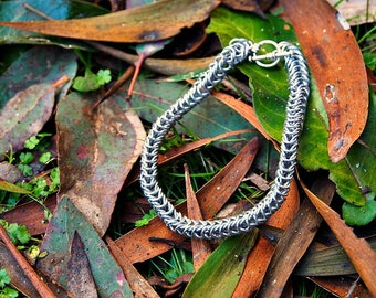 Aluminum Chain Maille Bracelet