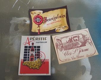 Original Labels, Vintage Wine Labels, Vintage Labels, Vintage Art, Antique Labels, 30s Wine Labels, Antique Wine Labels, Vintage Ephemera
