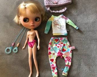 Custom OOAK Blythe Doll Yuki is looking for Love, Takudaaahouse