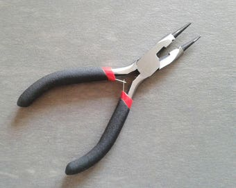 Multifunctional pliers 12.3 cm for jewelry creation