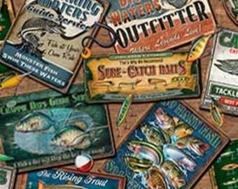 Pescado de muchas clases, etiquetas, acolchar tesoros