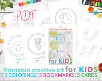 Printable creative kit for KIDS