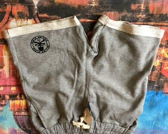 brand new light grey men's sport cotton shorts,size-L,XXL