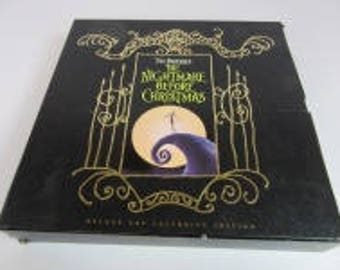 Nightmare Before Christmas Laser Discs and Book