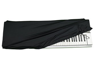 Stretchable Keyboard Dust Cover for 61-76 and  88 Key-keyboard:  – FREE Piano Chords Ebook