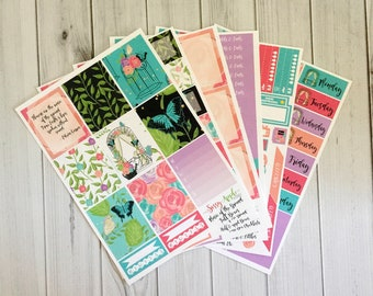 Music of the Ground - Weekly Planner Sticker Kit - Vertical