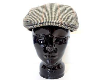 Newsboy Cap - Grandpa Hat - Newsboy Hat - Tweed Hats - Vintage Newsboy Caps - Slouchy Hat - Mens Hat Men Womens Hat Women - Mans Hat Womans