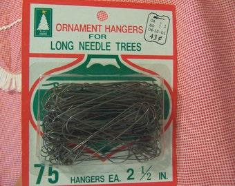 vintage package of ornament hangers