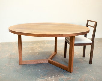 SALE - Cherry Round Dining Table
