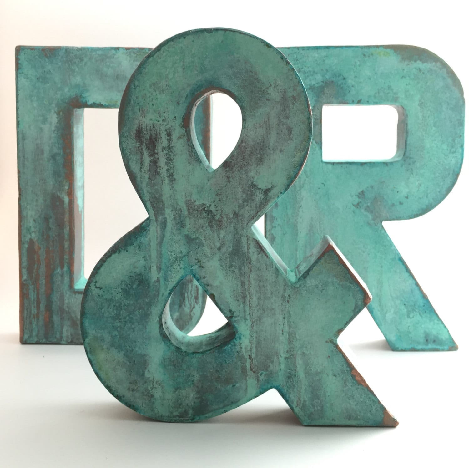 Modern Metal Letters Gorgeous Faux Metal Letters Oxidized Copper Metal Farmhouse 2017