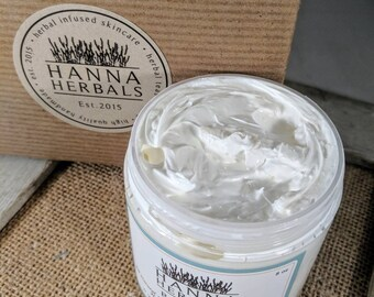 Jasmine Body Butter - rich and creamy body butter - dry skin relief - floral body butter - decadent body butter - Hanna Herbals