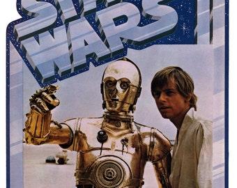 CP30/Luke Star Wars Vintage Image T-shirt