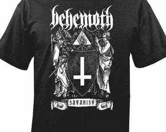 Behemoth Tshirt Black Metal Band Poland