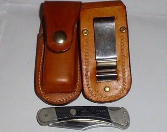 leather knife sheath for Puma 260