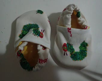Very Hungry Caterpillar crib shoes