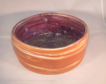 SALE Handmade Ceramic Marbled Square Serving Dish