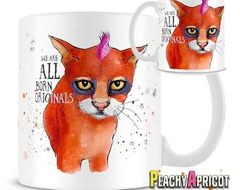 We are all born originals mug - Quote Mug - Message Mug - Positivity Mug - Inspirational Mug - Edward Young - Motivational - Positive Energy