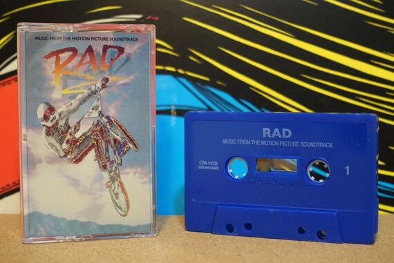 Rad (Music From The Original Motion Picture Soundtrack) by Various Artists (Reissue) Cassette