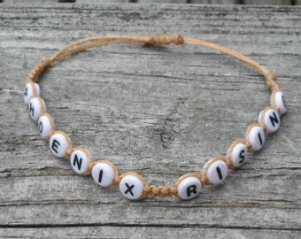 Phoenix Rising Knotted Cord Bracelet