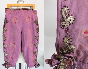 Vintage 1930s 1940s Hollywood Costume Toreador Pants Embellished Embroidered Spanish  / United Costumers  Movie Memorabilia Rare Collectible