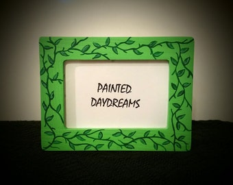 Leaves On A Vine Picture Frame