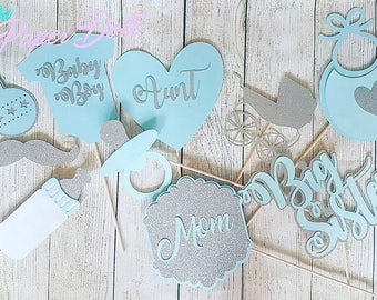 Baby Shower Photo Props boy