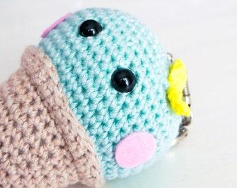 Mary - Rosalie's little sister and crochet keychain