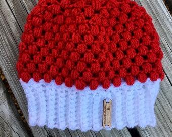 Messy Bun Hat Adults Kids Babies Crochet Ponytail Pony Tail Womens Hat Crochet Accessories Hat Womens Slouchy Tam Beret Crochet Hat