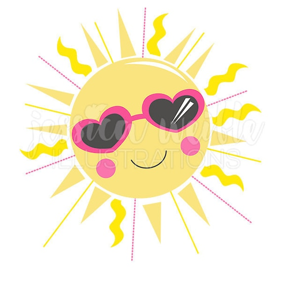sunshine cutie cute digital clipart sun clip art summer graphic rh etsystudio com clipart of happy sunshine clipart ray of sunshine