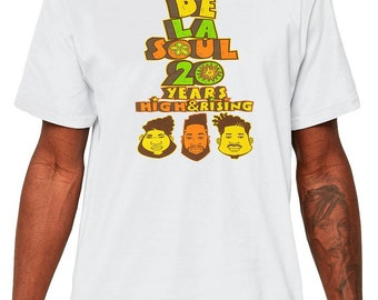 De LA SOUL A tribe called quest Q-tip phife dawg ATCQ Members Hip-Hop Rap Native Tongues T-Shirt