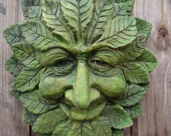 WISE Green man Garden Wall plaque