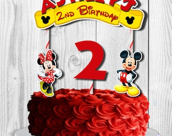 Mickey Mouse Clubhouse Centerpieces Cake Toppers