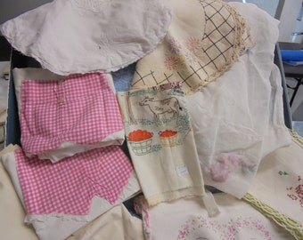 over 100 pieces of linen