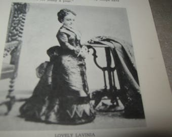 Rare Biography Of General Tom Thumb and his Lady